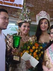 Ms Lyra Velchez crowned Miss Water Lily 2012