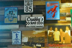 Wall Decals at ClawDaddy Harbor Point
