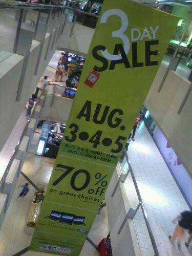 SM Sta Mesa 3-Day Sale