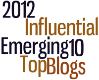 2012 Emerging Influential Blogs - Top 10
