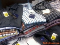 Buttoned-down Shirts on Sale - SM City Manila 3-Day Sale