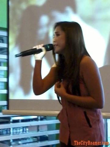 Jayke Reyes sings her heart out