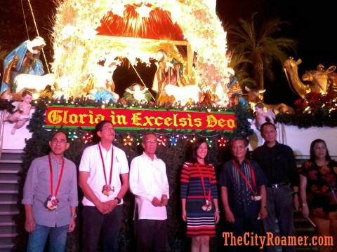 QC Govt Officials at the Araneta Center Belen Lighting Ceremony