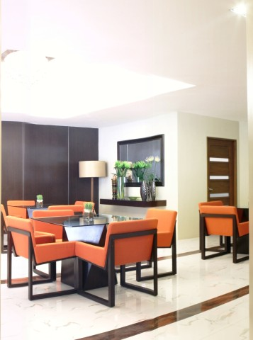 A Dining Area in Ilustrata Residences