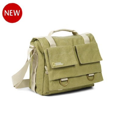 National Geographic Earth Explorer Collection: NG 2476 - Medium Messenger Bag for DSLR and laptop