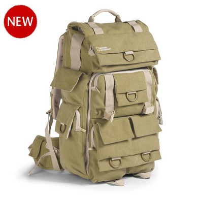 National Geographic Earth Explorer Collection: NG 5738 - Large Backpack for personal Gears, 2 - 3 SLR Cameras, Accessories and laptop
