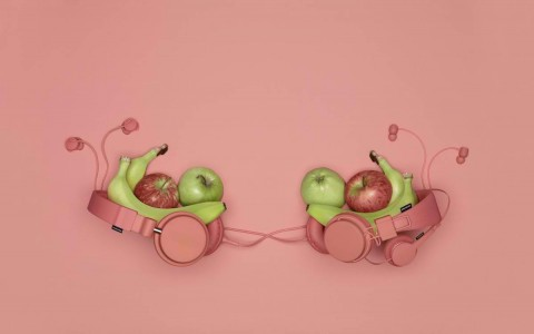 Urbanears 2013 Spring-Summer Collection - Fresh New Color - Coral
