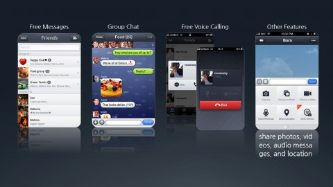 LINE Mobile Messenger Features
