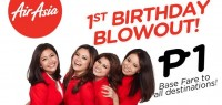 AirAsia 1st Birthday Blowout