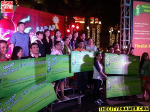 Winners of the C2 Sarap ng Christmas Tree-Making Contest