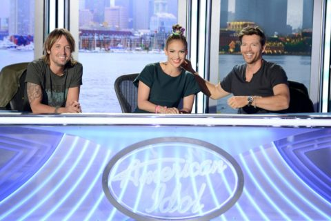 American Idol XIII Judges - Keith Urban, Jennifer Lopez and Harry Connick Jr