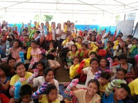 Papet Bisig and Cebu Pacific Collaborate for the Kids of Tacloban