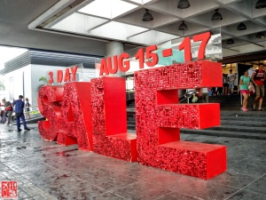 SM City Sta Mesa 3-Day Sale