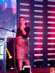 Sitti Navarro performing at the Backroom 25 on 25 event