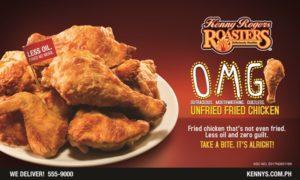 Kenny Rogers' OMG Unfried Fried Chicken 8pcs