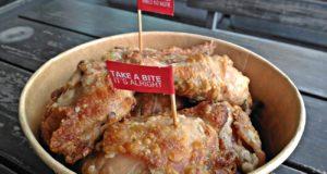 Kenny Rogers OMG Unfried Fried Chicken in a bucket