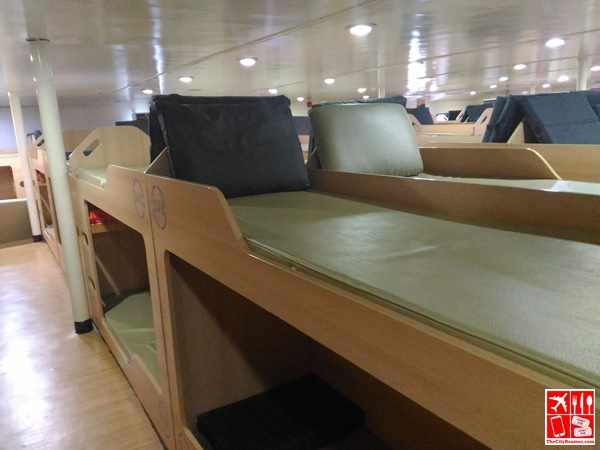 Bunk beds of 2Go Travel's M/V Saint Ignatius of Loyola Tourist Class