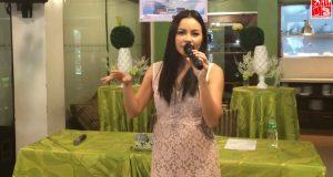 Sitti performs Bid You Love at the presscon