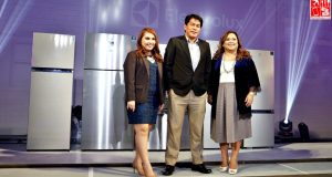Electrolux Philippines Executives at the Electrolux NutriFresh Fridges launch