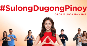 Sarah G supports Sangobion Sulong Dugong Pinoy
