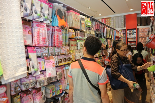 Knicks-Knacks in all shapes and sizes are sold at Daiso Japan store