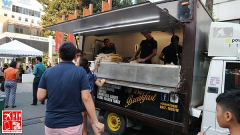 All-Day Breakfast Food Truck at Summer on the Street Food Fest