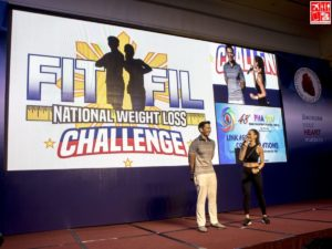 Fit Fil National Weight Loss Challenge led by Coach Jim and Toni Saret