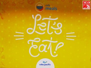 Cebu Pacific meals introduced