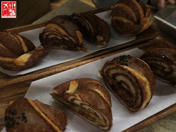 Western Fusion Series: Hazelnut Banana Croissant