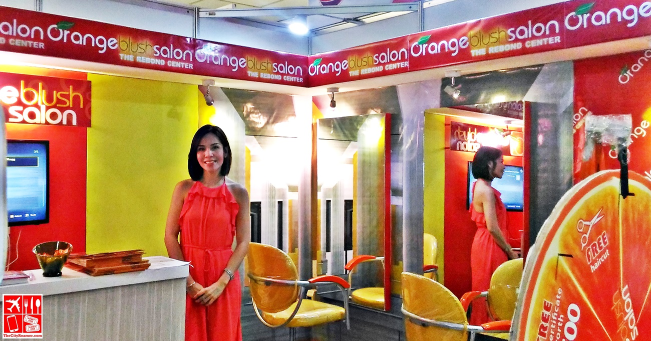 Orange Blush Salon Franchise opportunity at the Franchise Asia Philippines Expo 2017