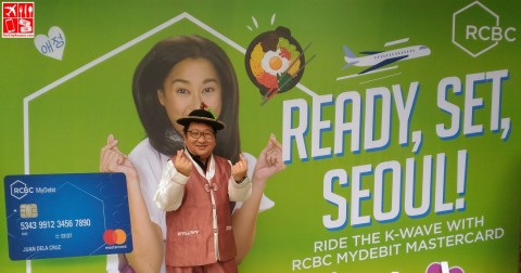 RCBC MyDebit Mastercard and Ready Set Seoul promo launched