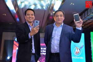 Motorola Executives at the Moto G5s Series launch