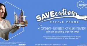 RCBC SAVEcation Raffle Promo
