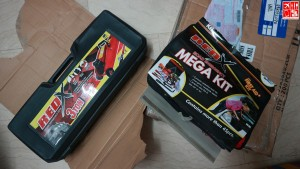 Red X Car Tools and Equipment from Miles and Levels