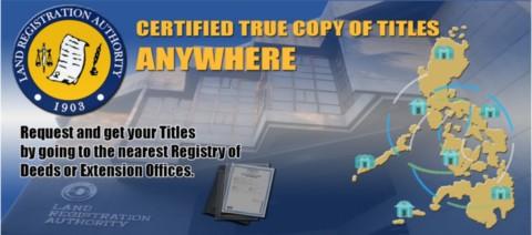 Land Registration Authority's A2A Program