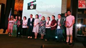 The awardees with Tourism Secretary Wanda Teo and TPB COO Cesar Montano