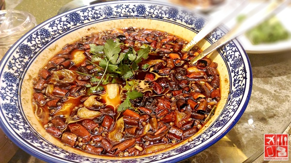 Poached Sliced Fish in Szechuan Chili Oil (Php788)