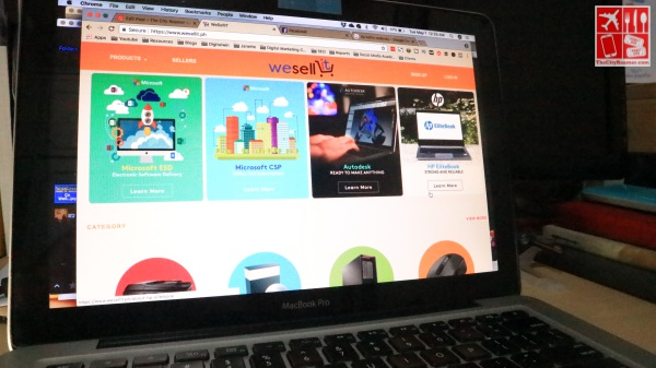 WeSellIT is an e-commerce site focusing on IT (Gasoline)
