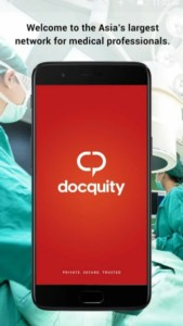 Docquity App is Asia's largest network for medical professionals