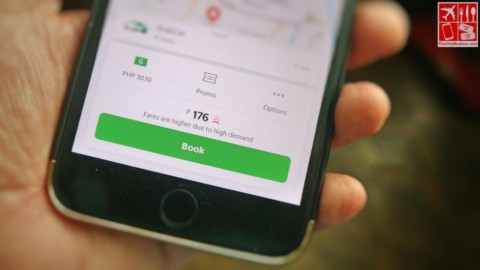 Grab Higher Fare Notification