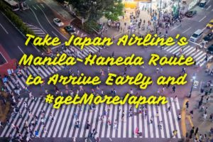 Get More Japan with Japan Airlines' Manila-Haneda route