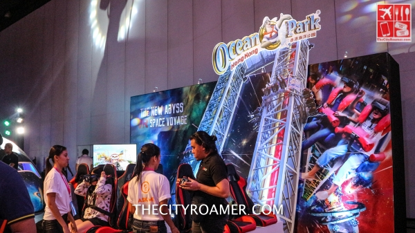 Ocean Park booth at Klook Travel Fest 2019