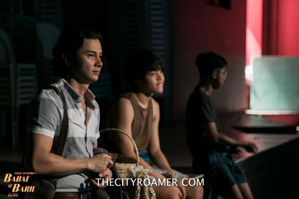 A scene in Babae at Baril with JC Santos