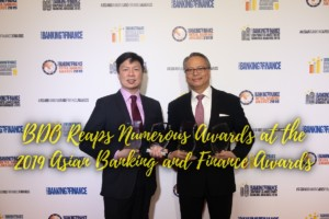 BDO Unibank reaps numerous awards at the 2019 Asian Banking and Finance Awards