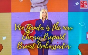 Vice Ganda is Brand Ambassador of Cherry Prepaid
