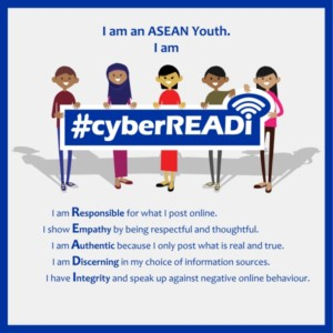 #cyberREADI - a campaign for the ASEAN youth's cyber wellness