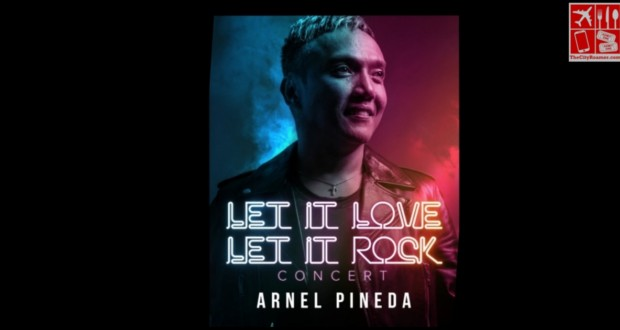 Arnel Pineda - Let It Love Let It Rock valentine concert
