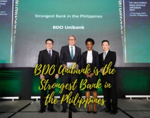 BDO is the Philippines' Strongest Bank for 2nd straight year