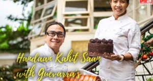 Chefs Roland and Jackie Laudico of Chef Laudico Guevarra's