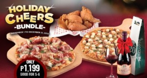 Shakey's Holiday Cheers Bundle